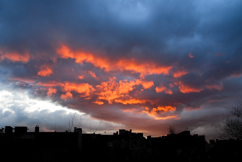 ...a fire in the sky...